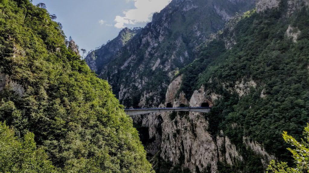 мост над каньоном Малой Реки