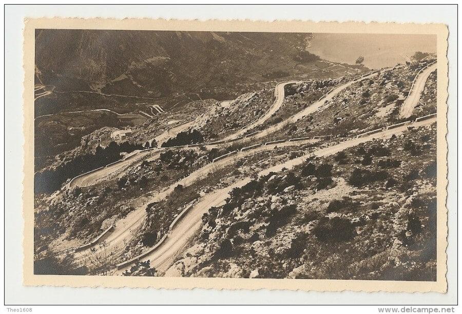 Серпантин Ловчен конец 19-го века фото
