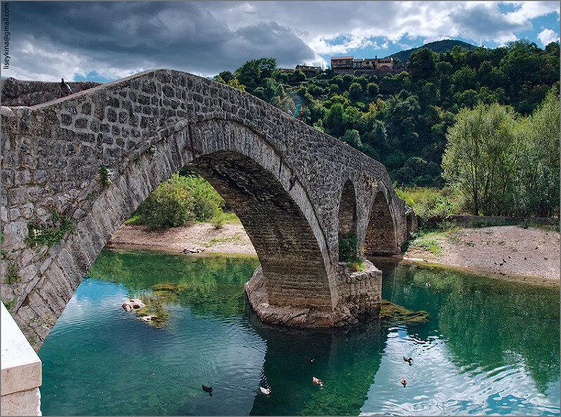 мост у поселка Река Црноевича