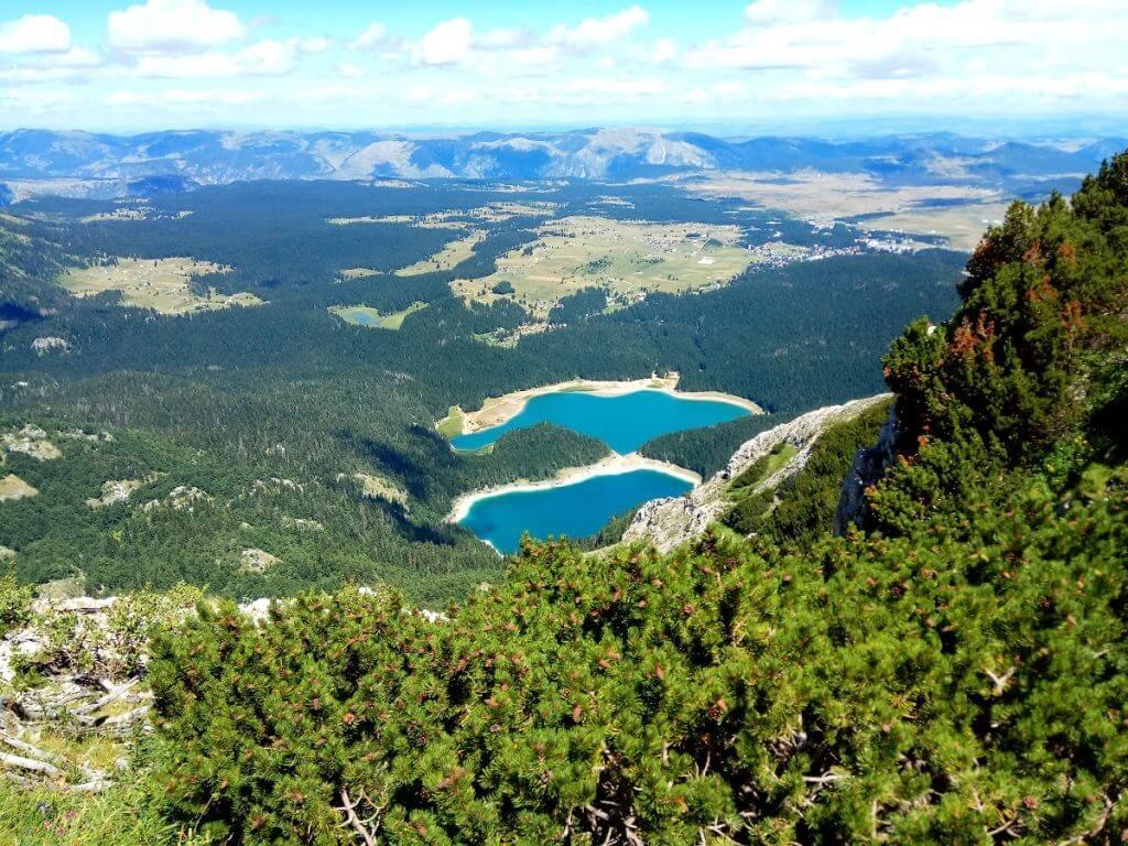 Большое и Малое озеро Черногория