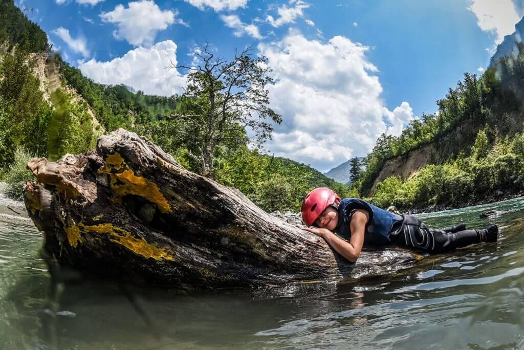Рафтинг на реке Дорина