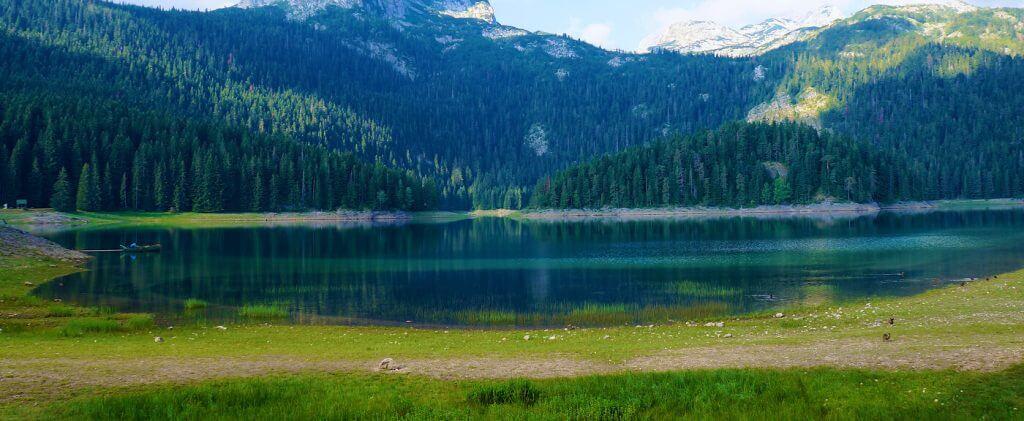 Чёрное озеро в Жабляке