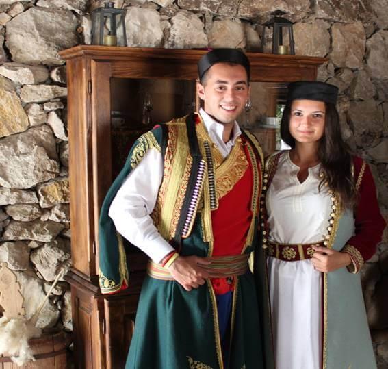 национальная одежда в Черногории