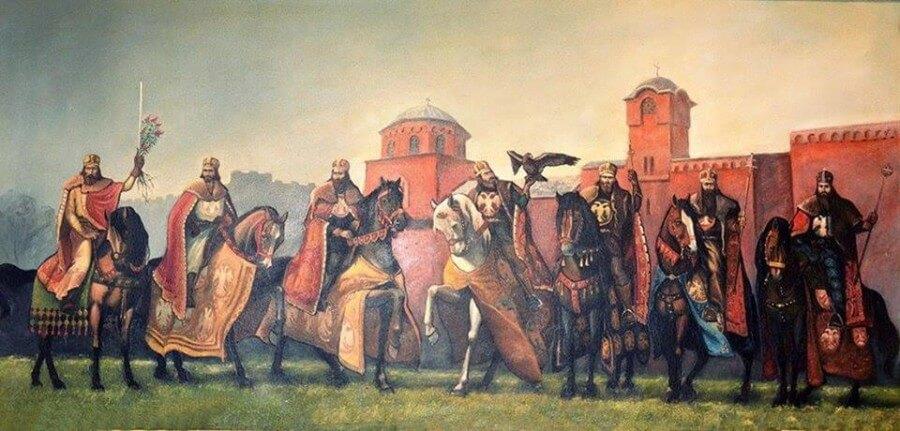1389 битва на Косовом поле