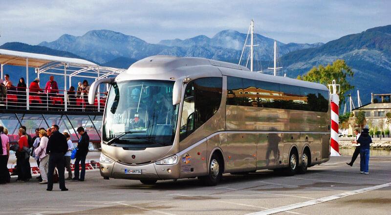 Как добраться из Тивата в Будву на автобусе