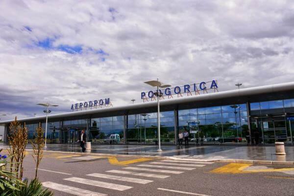 аэропорт Подгорица Черногория