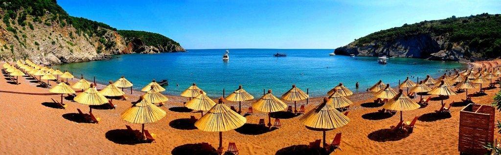 Пляж Королевы Бар Черногория