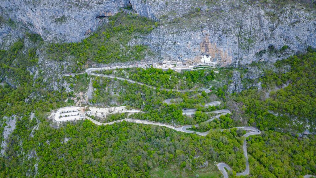 путь Даниловград — монастырь Острог (М18, R23)