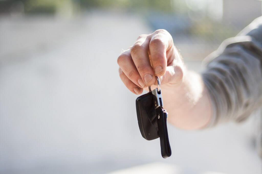 ключи от авто Сел и поехал