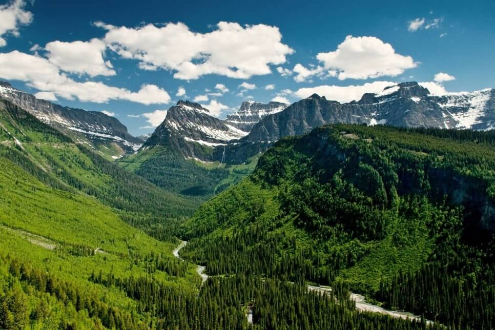 Going-to-the-Sun Road, США