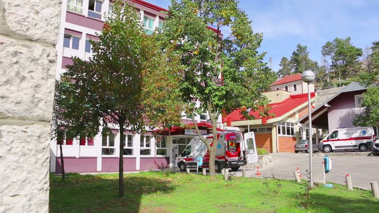 Больница в Цетинье