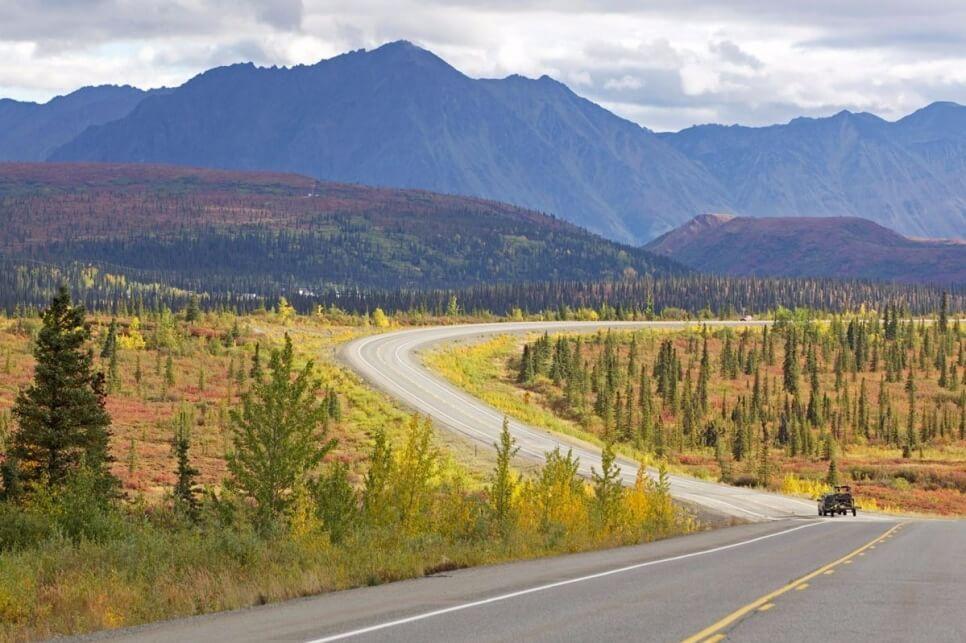 The Denali Highway, США