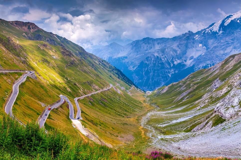 Passo Stelvio, Италия