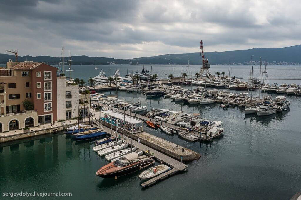 Порто Монтенегро - кусочек Европы в Черногории