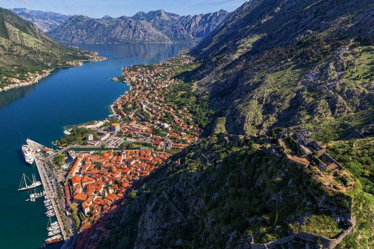 Черногория с высоты птичьего полета