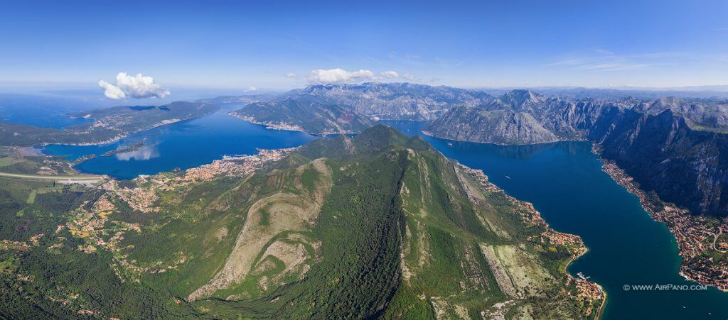 Боко-Которский залив Черногория