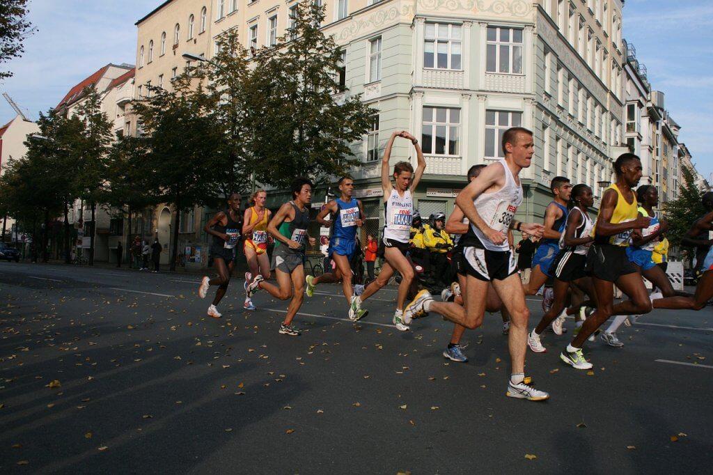 марафонский забег в Черногории