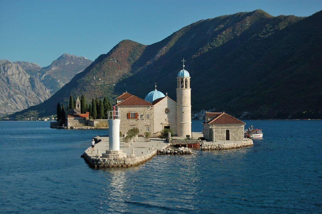святые места Черногории