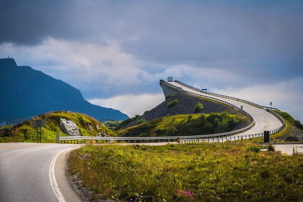Atlantic Road, Норвегия