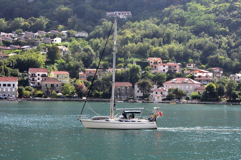 яхтинг в Которе Черногория