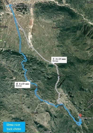 Полумарафон в Остроге маршрут