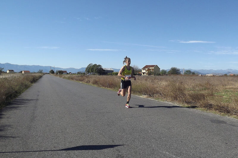 марафон в Подгорице — история Астрид Бун