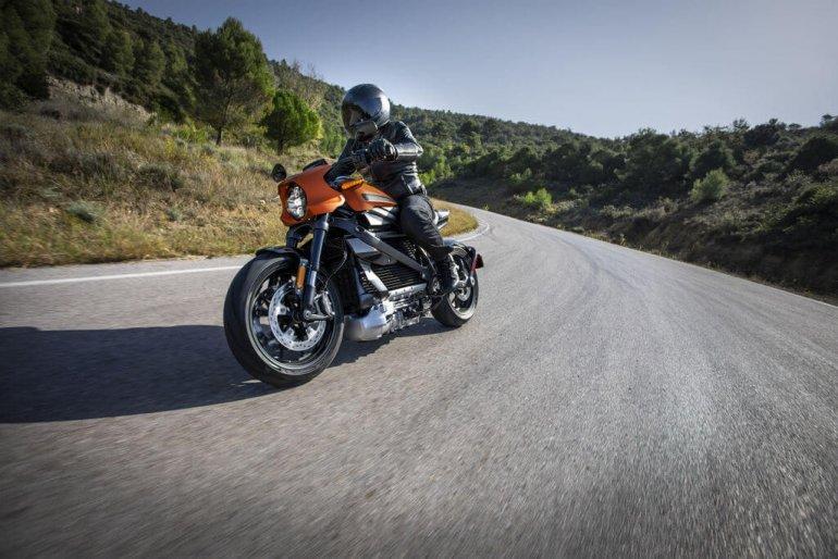 Harley-Davidson показала свой первый электромотоцикл!