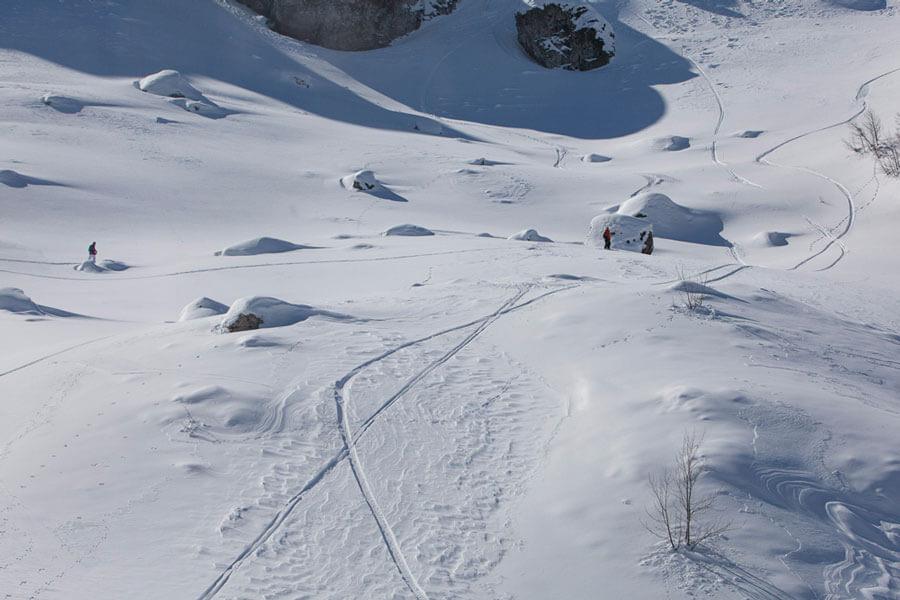 горный спуск Колашин Черногория