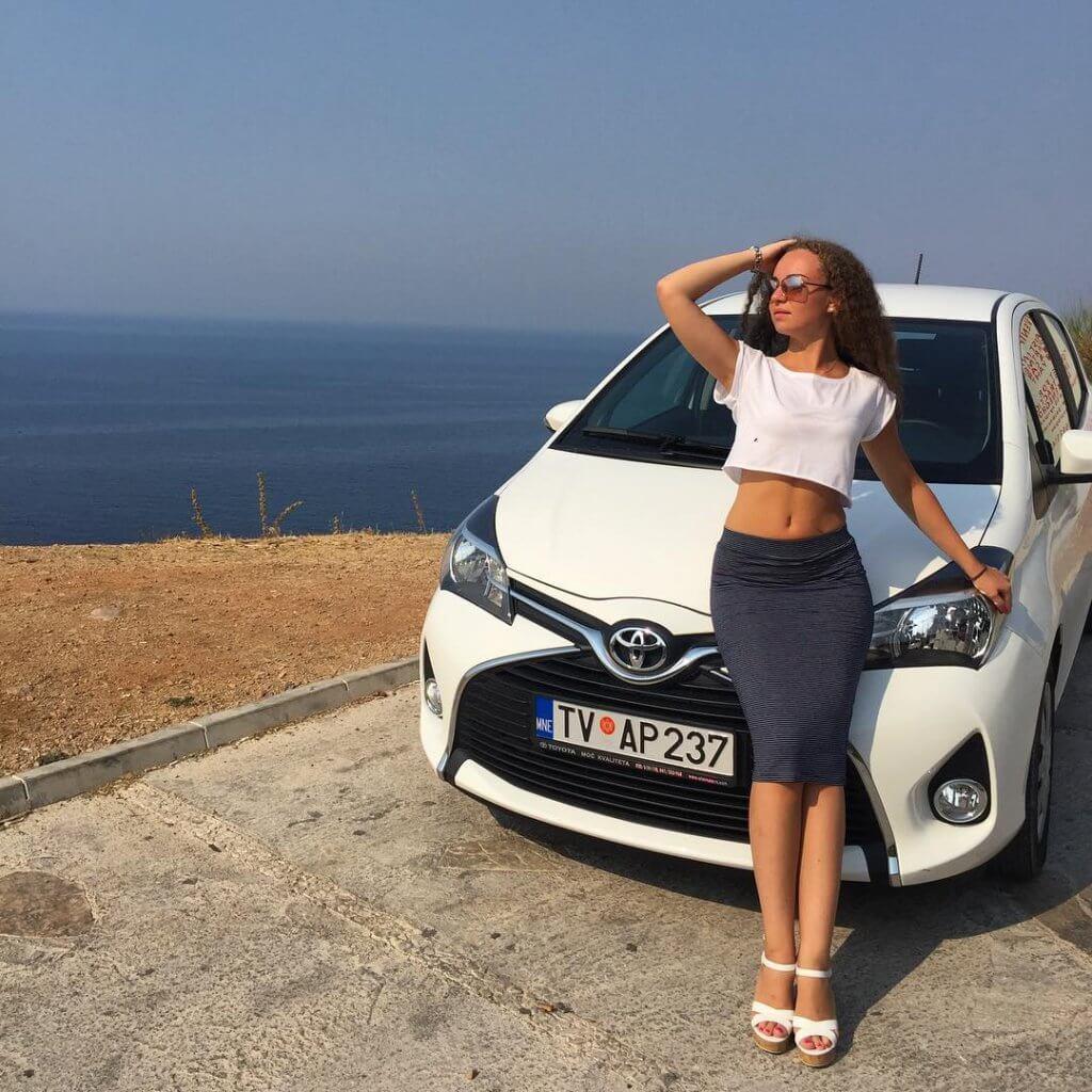 отзывы туристов о Toyota Yaris в Черногории