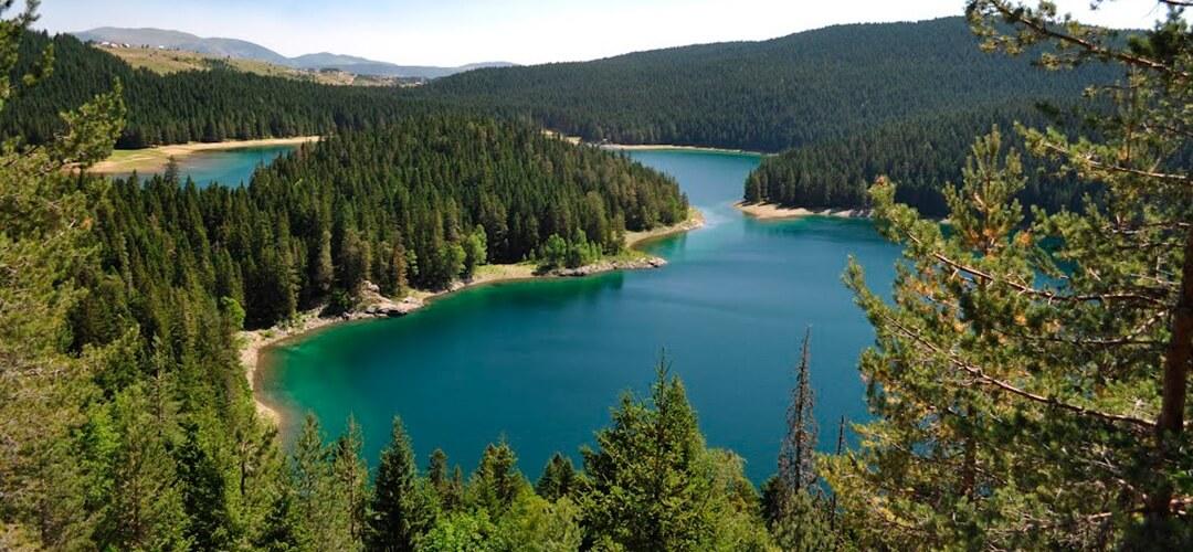 Чёрное озеро Черногория