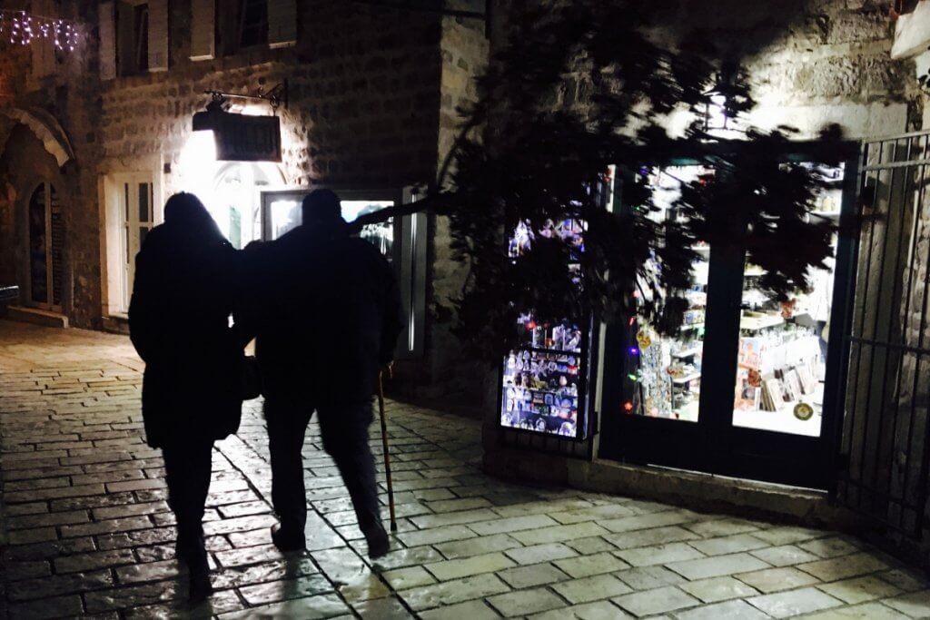 Рождественская ночь в Черногории