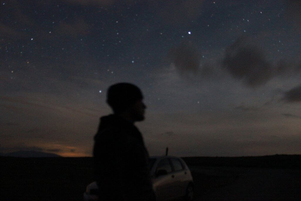 ночное небо Черногория