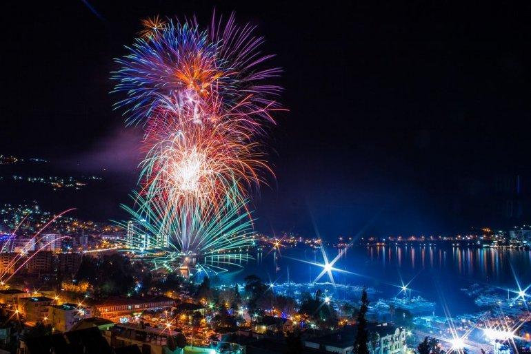 Новый год Черногория