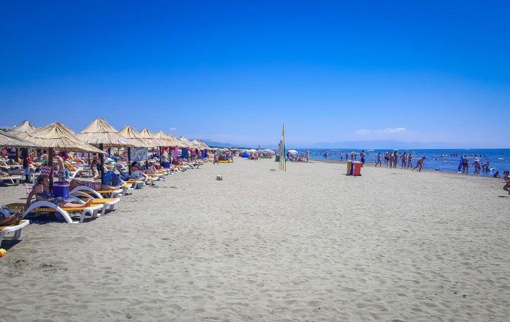 Велика Плажа Черногория