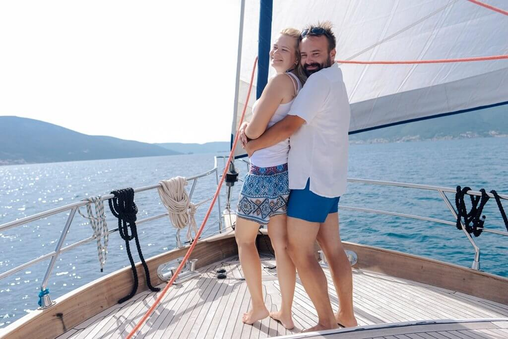 прогулка на яхте Черногория