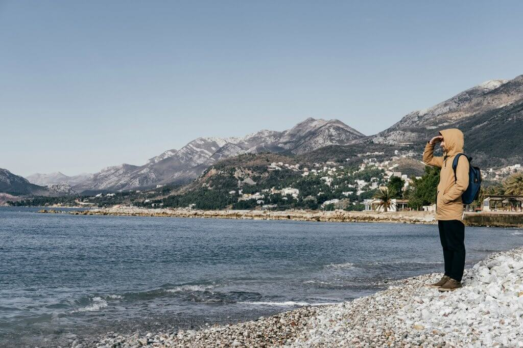 осеннее море Черногории