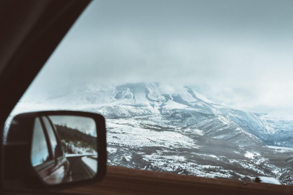 зимние дороги в Черногории