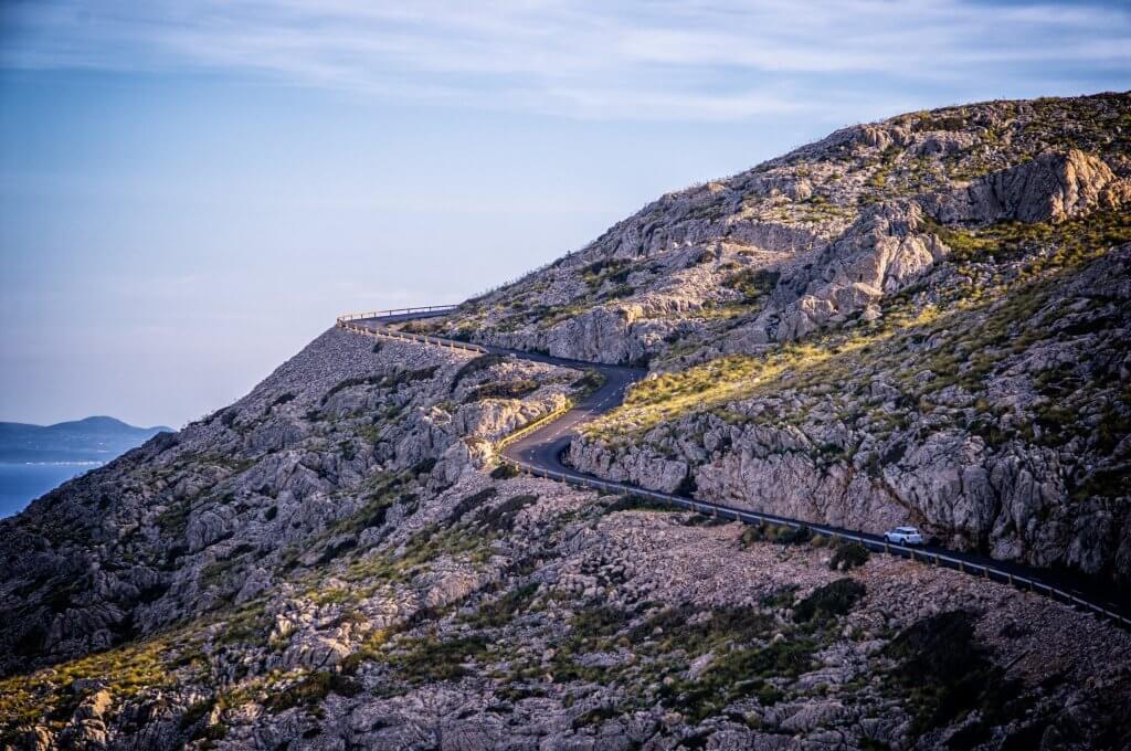 горные дороги в Черногории
