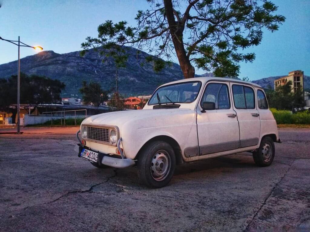 ретроавтомобили в Черногории