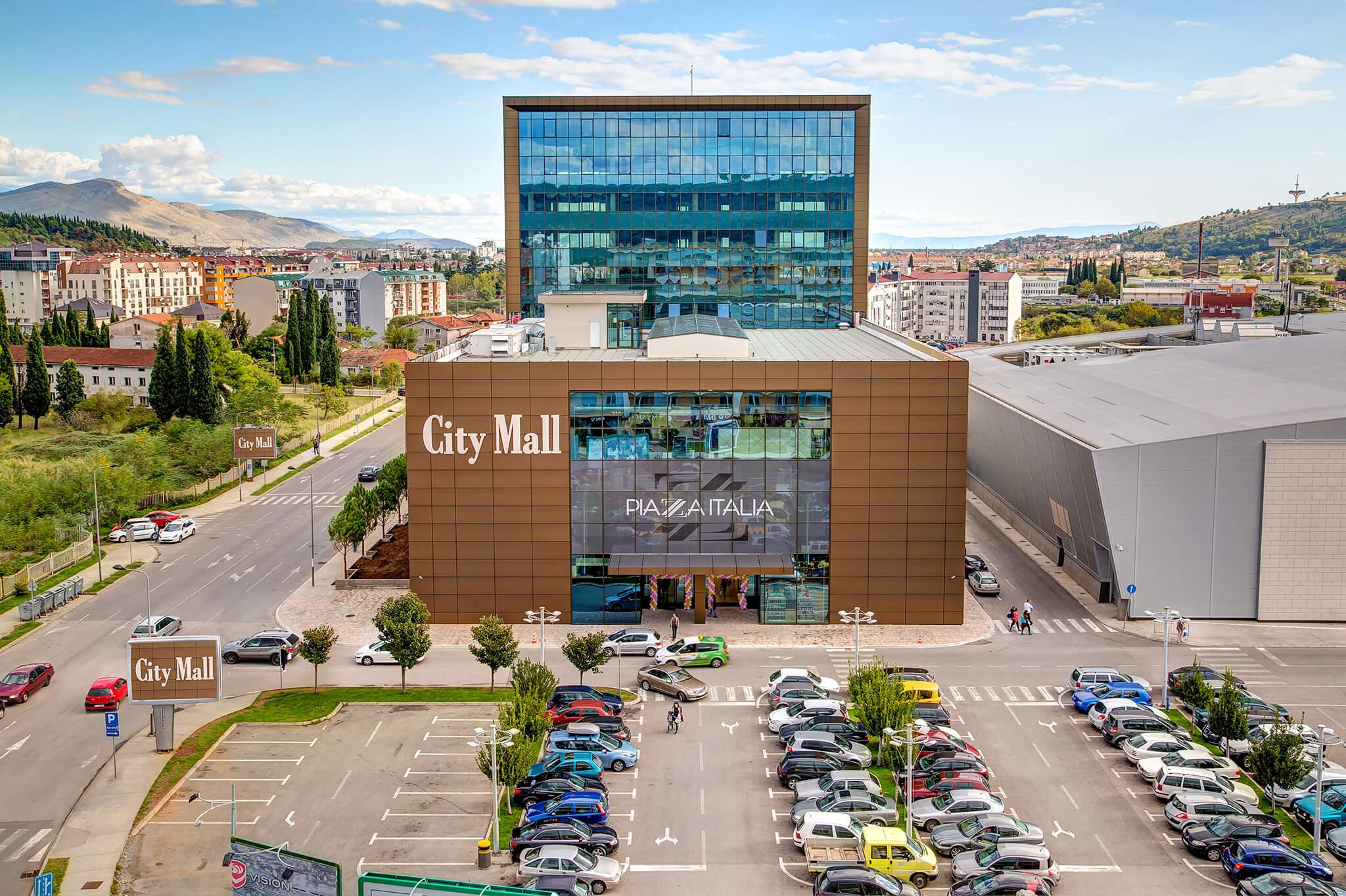 Торговые центры Черногории есть на курортах, но большинство - в столичном Подгорице
