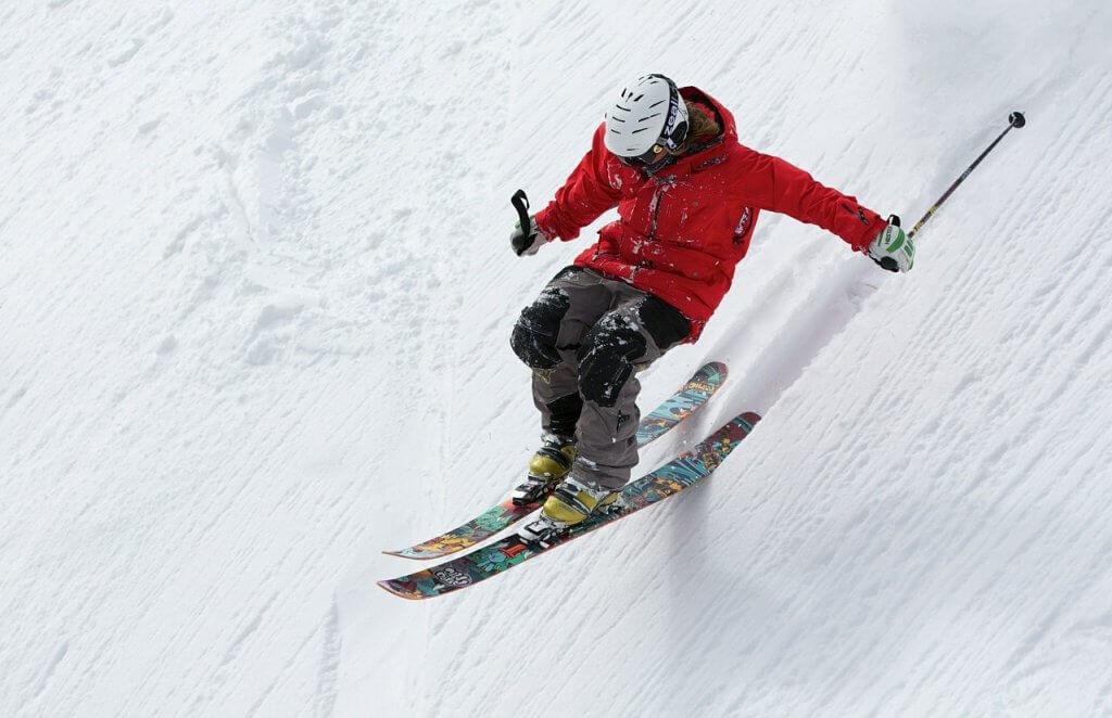 лыжники в Черногории