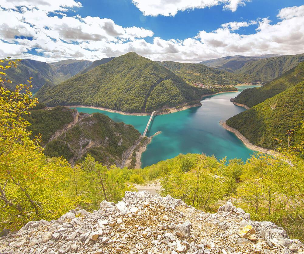Пивское озеро смотровая площадка