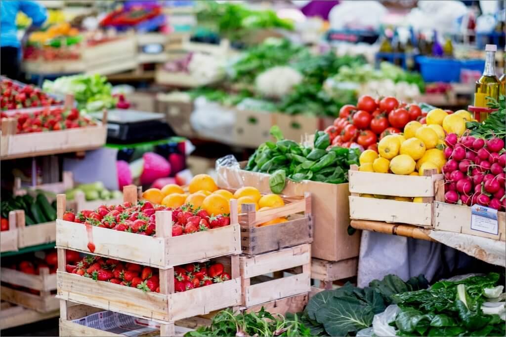 продуктовые рынки Черногории