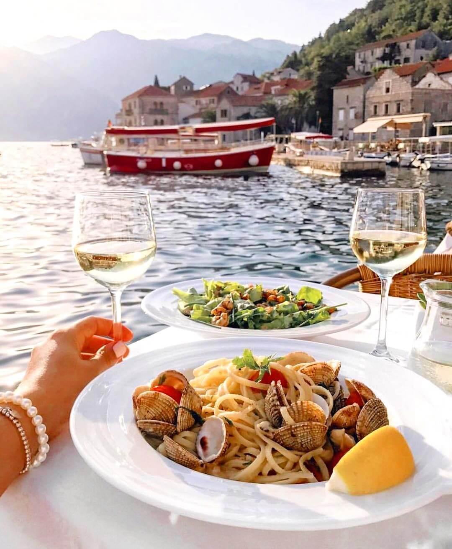 рестораны города Пераст в Черногории