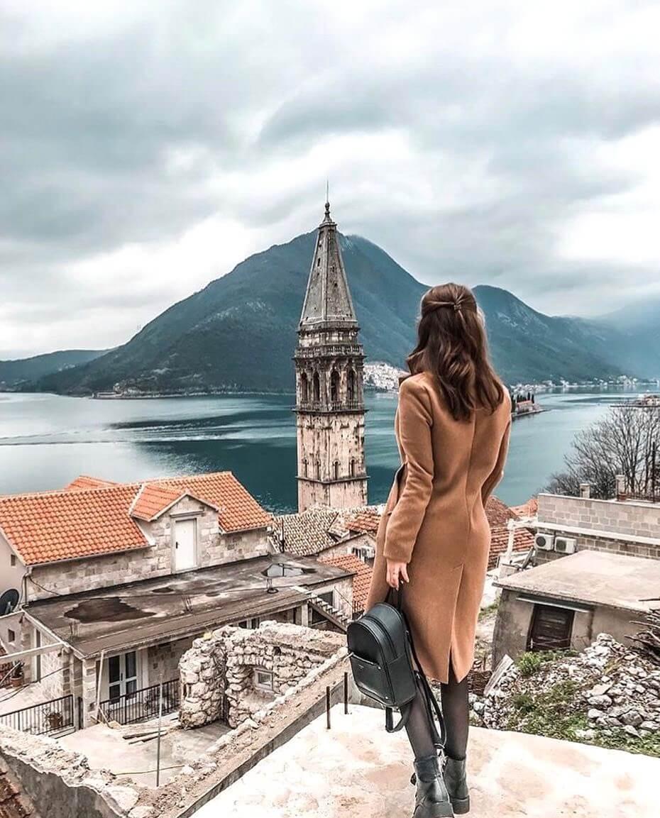 Фото города Пераст в Черногории