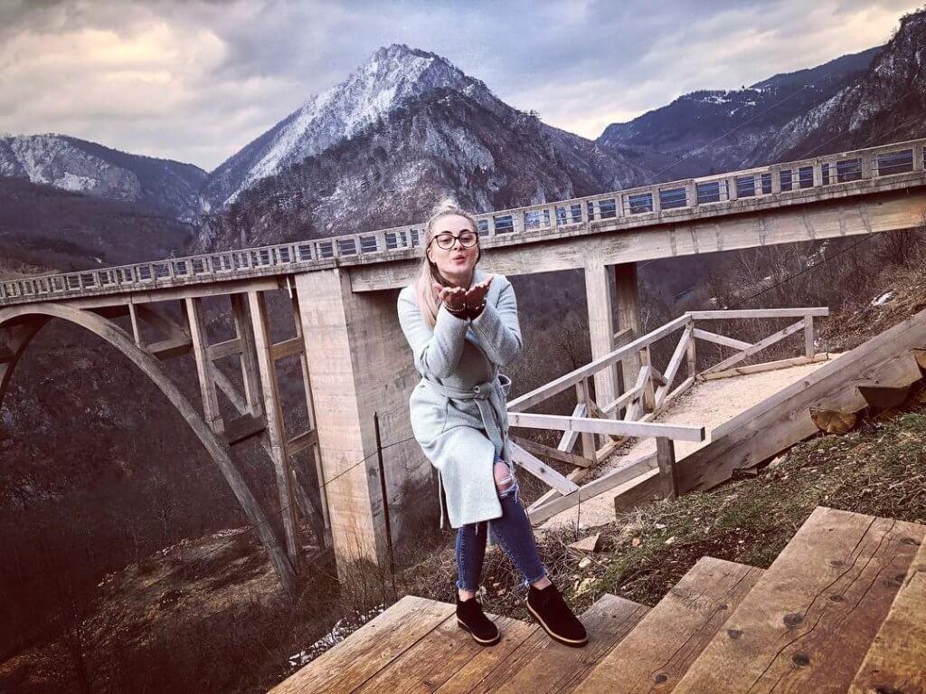 фото с моста Джурджевича над рекой Тара