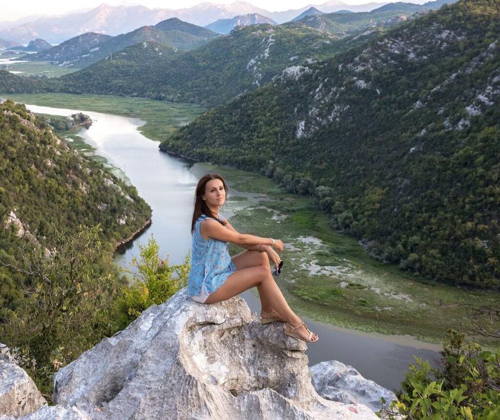 Фотосессия со смотровой площадки Скадарского озера