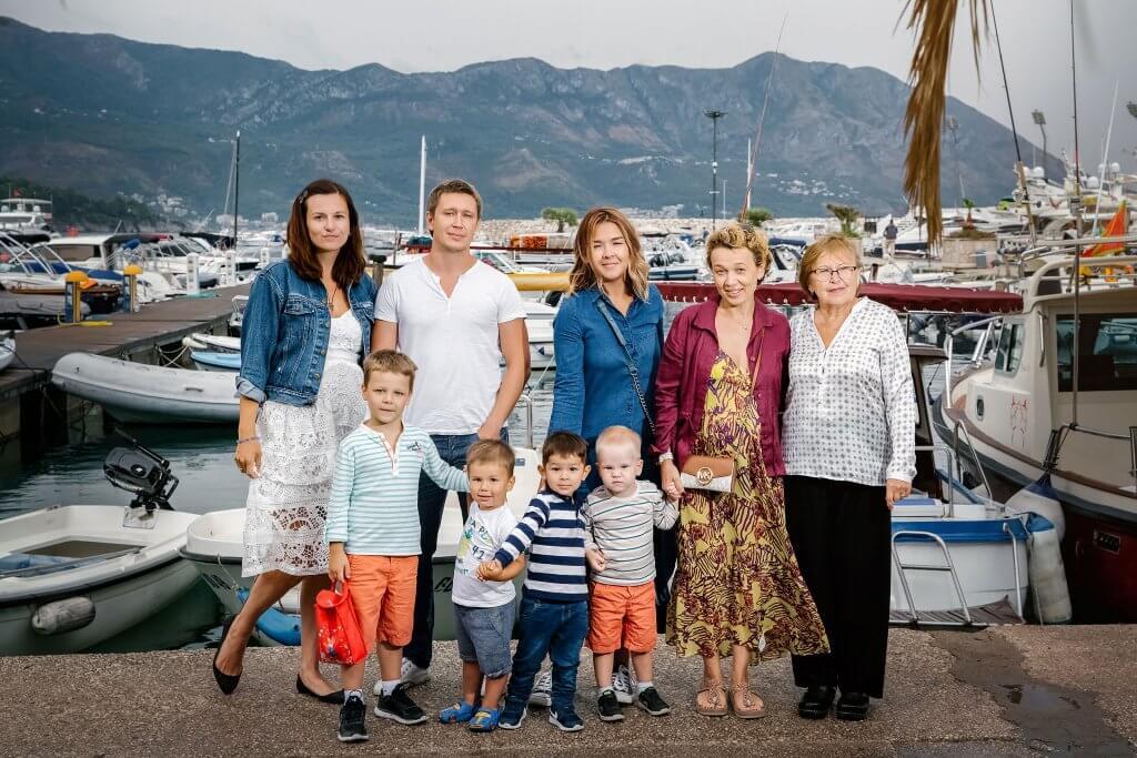 семейная жизнь в Черногории