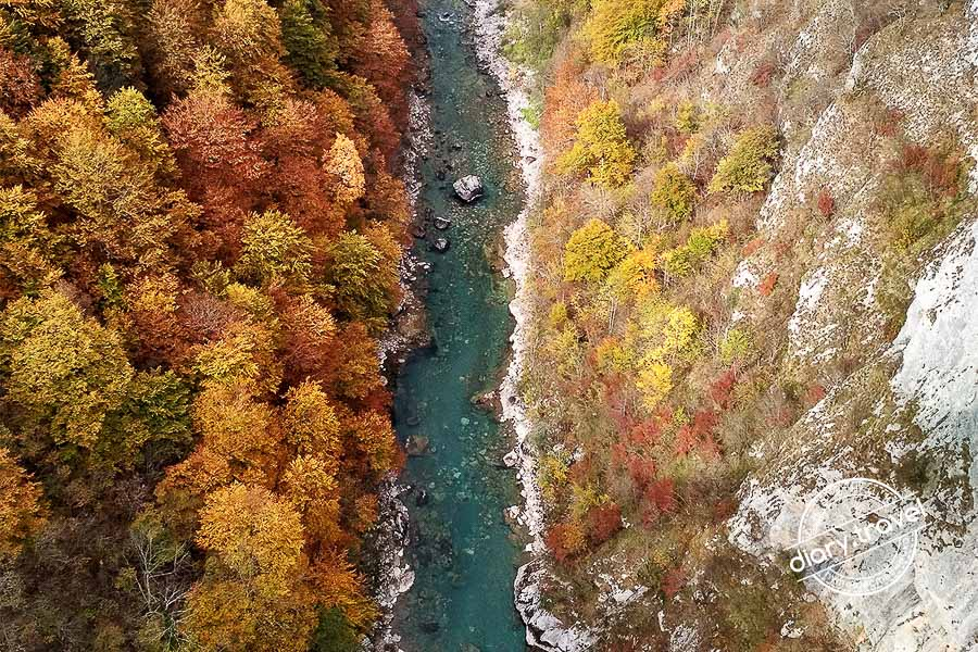 Черногория фото с дрона