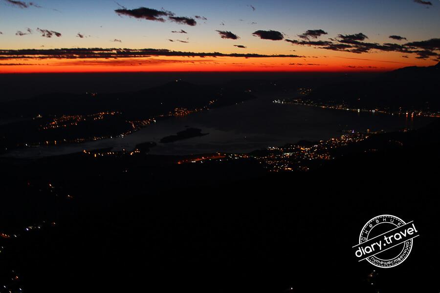 закаты Черногории